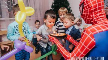 Съемка детских праздников