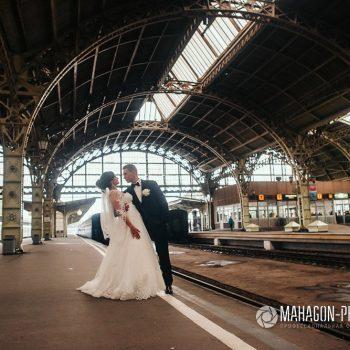 Свадебная фотосессия в Петербурге - фото 5