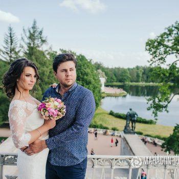 Свадебная фотосессия в Петербурге - фото 6