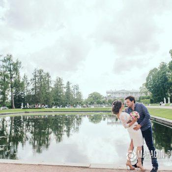Свадебная фотосессия в Петербурге - фото 7