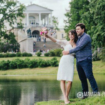 Свадебная фотосессия в Петербурге - фото 10