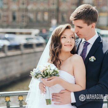 Свадебная фотосессия в Петербурге - фото 24