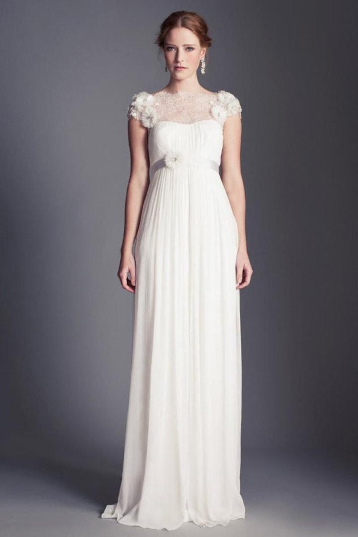 Выбор свадебного платья для фигуры типа Круг/Яблоко