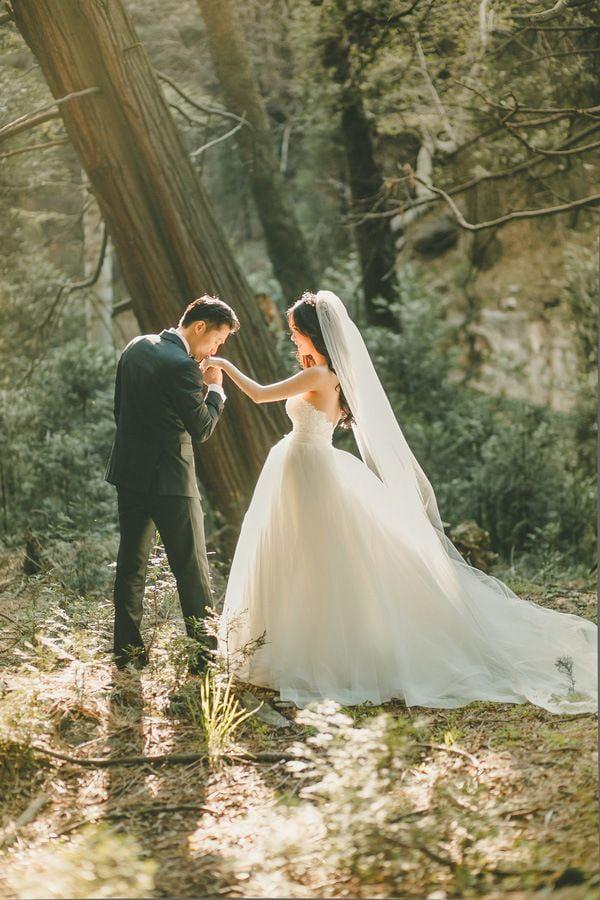 Свадебная осенняя фотосессия - 21