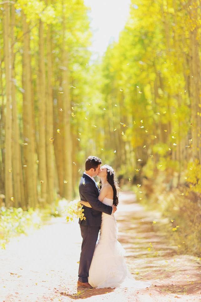 Свадебная осенняя фотосессия - 32