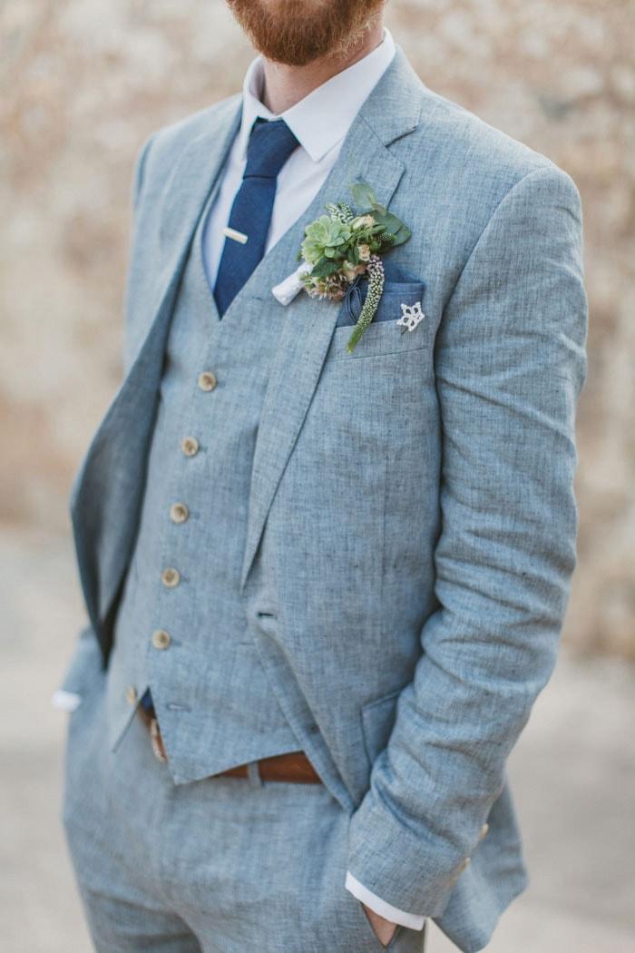В чем пойти на свадьбу летом мужчине, что надеть - 5