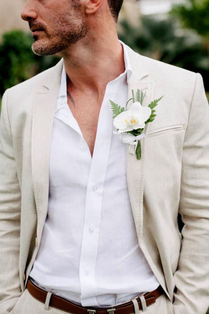 В чем пойти на свадьбу летом мужчине, что надеть - 10