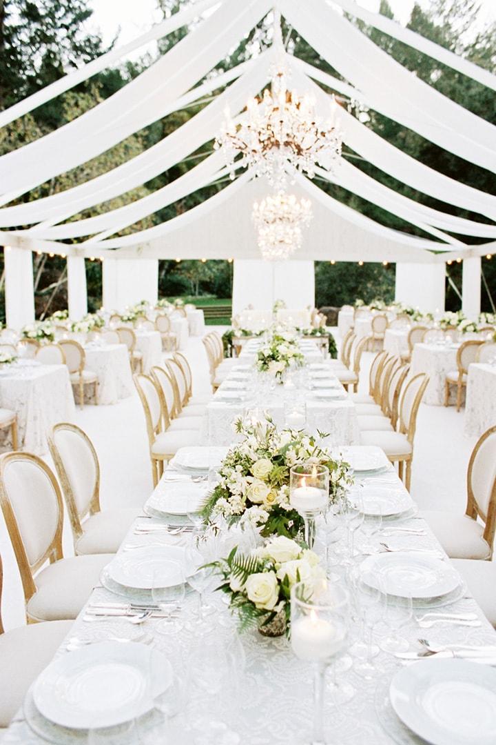 Как украсить зал на свадьбу, оформление свадебного зала своими руками - 1