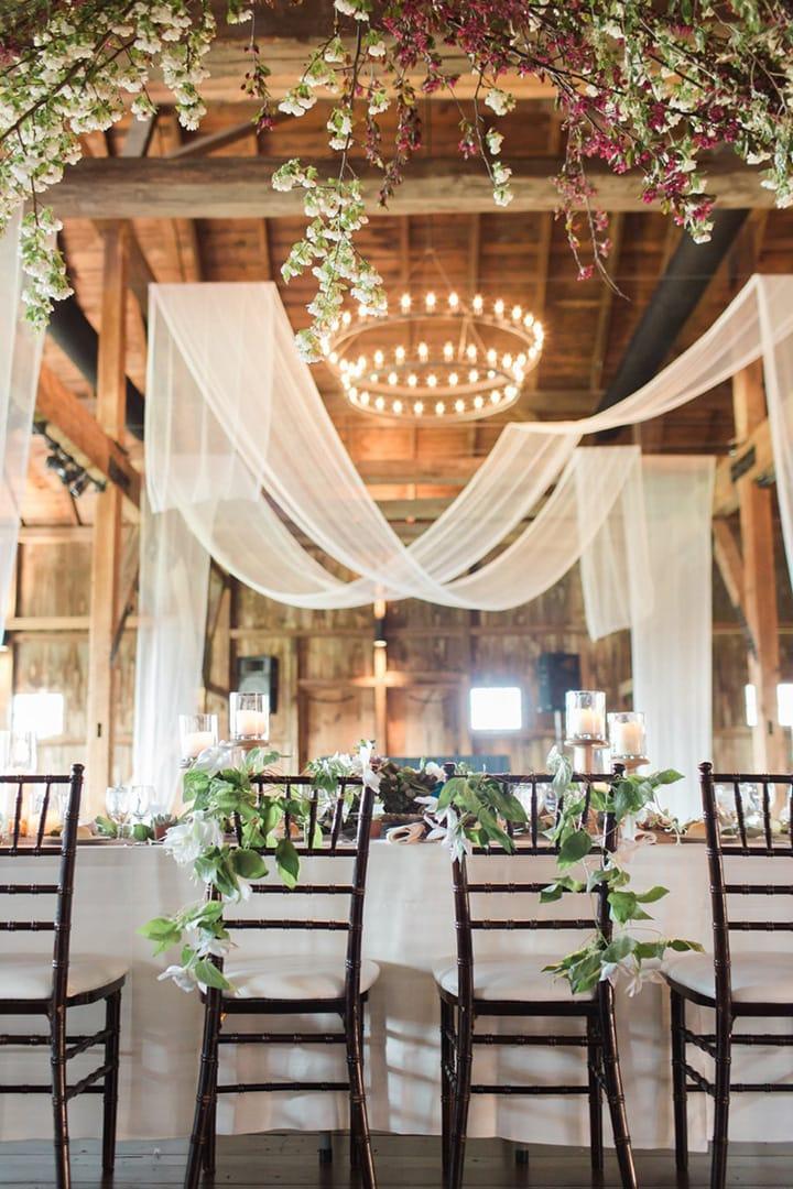 Как украсить зал на свадьбу, оформление свадебного зала своими руками - 6
