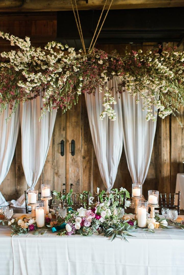 Как украсить зал на свадьбу, оформление свадебного зала своими руками - 7