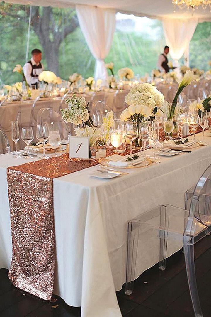 Как украсить зал на свадьбу, оформление свадебного зала своими руками - 8