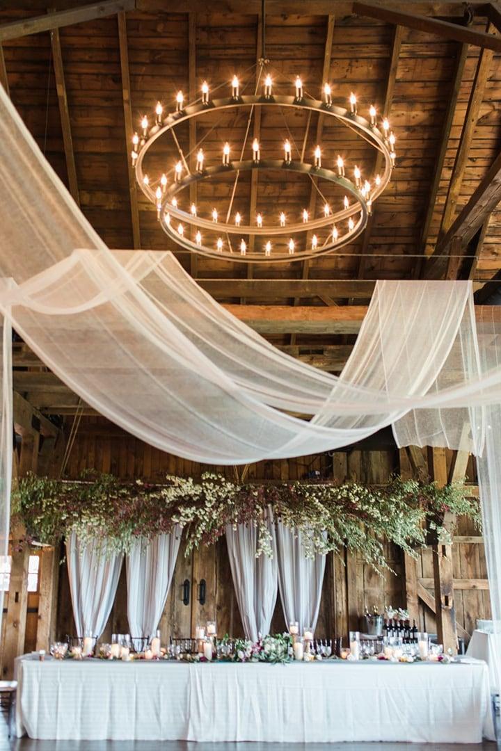 Как украсить зал на свадьбу, выбор цвета для оформления зала - 4
