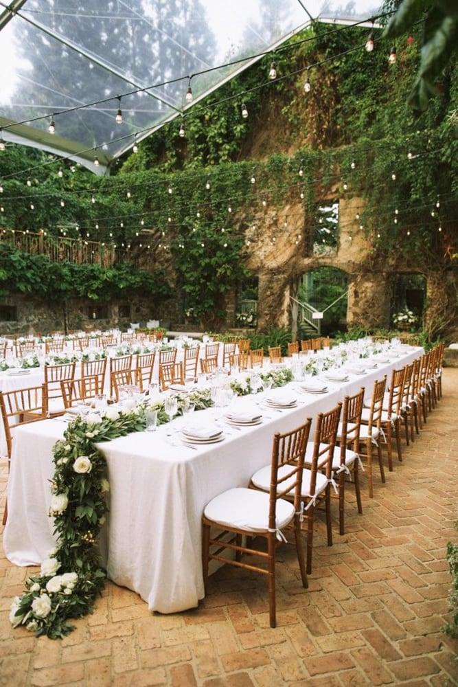Как украсить зал на свадьбу, выбор цвета для оформления зала - 7