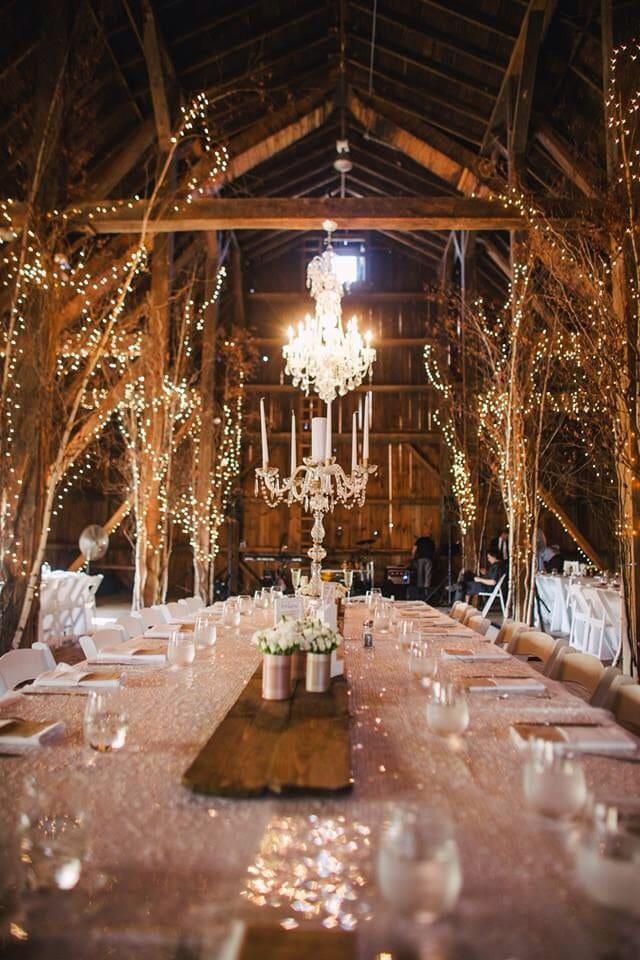 Как украсить зал на свадьбу, выбор цвета для оформления зала - 8