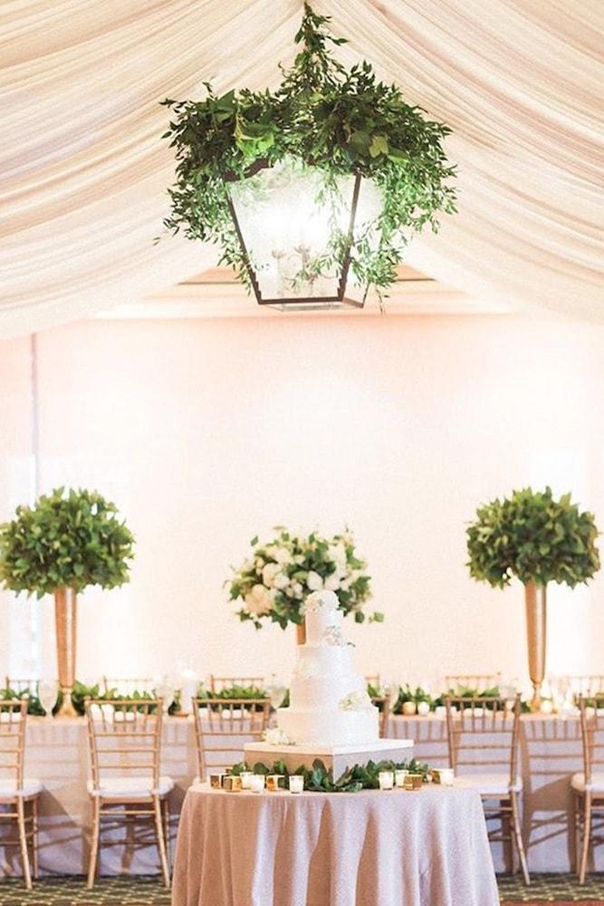 Как украсить зал на свадьбу, оформление свадебного зала живыми цветами - 5