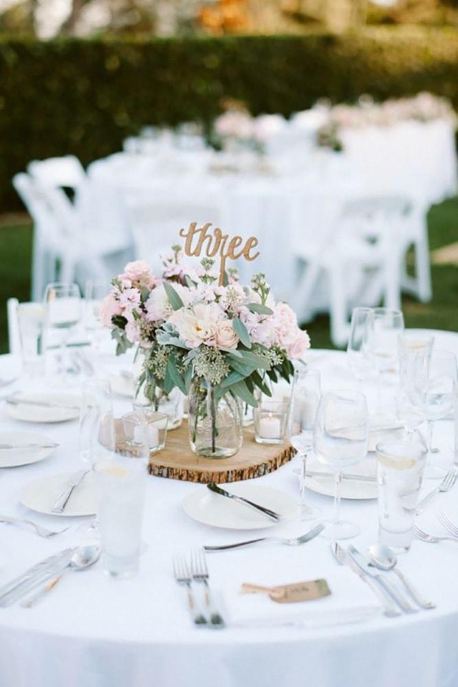 Как украсить зал на свадьбу, оформление свадебного зала живыми цветами - 6