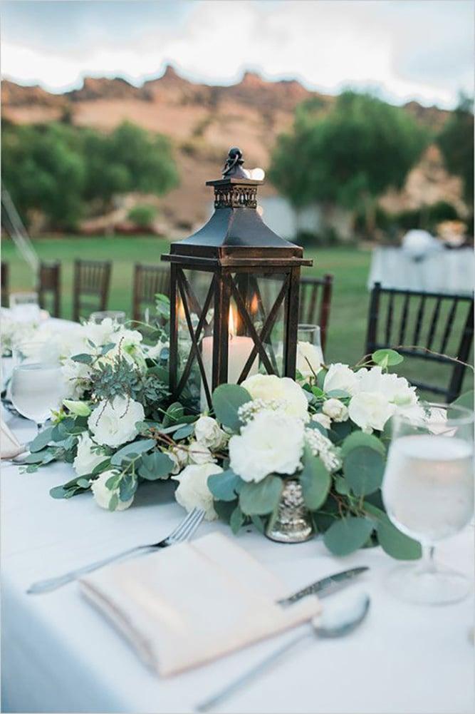 Как украсить зал на свадьбу, оформление свадебного зала живыми цветами - 7