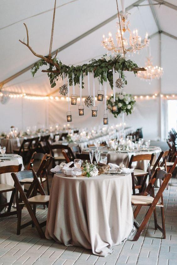 Как украсить зал на свадьбу, выбор стиля для оформления свадебного зала - 5