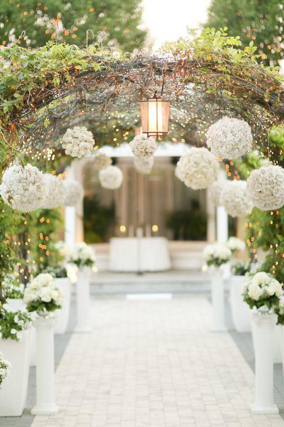 Как украсить зал на свадьбу, выбор стиля для оформления свадебного зала - 8