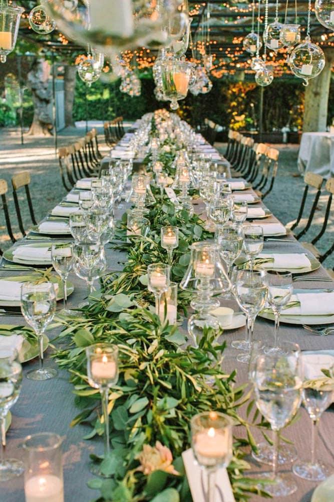Порядок работ по оформлению и украшению свадебного зала своими руками - 2