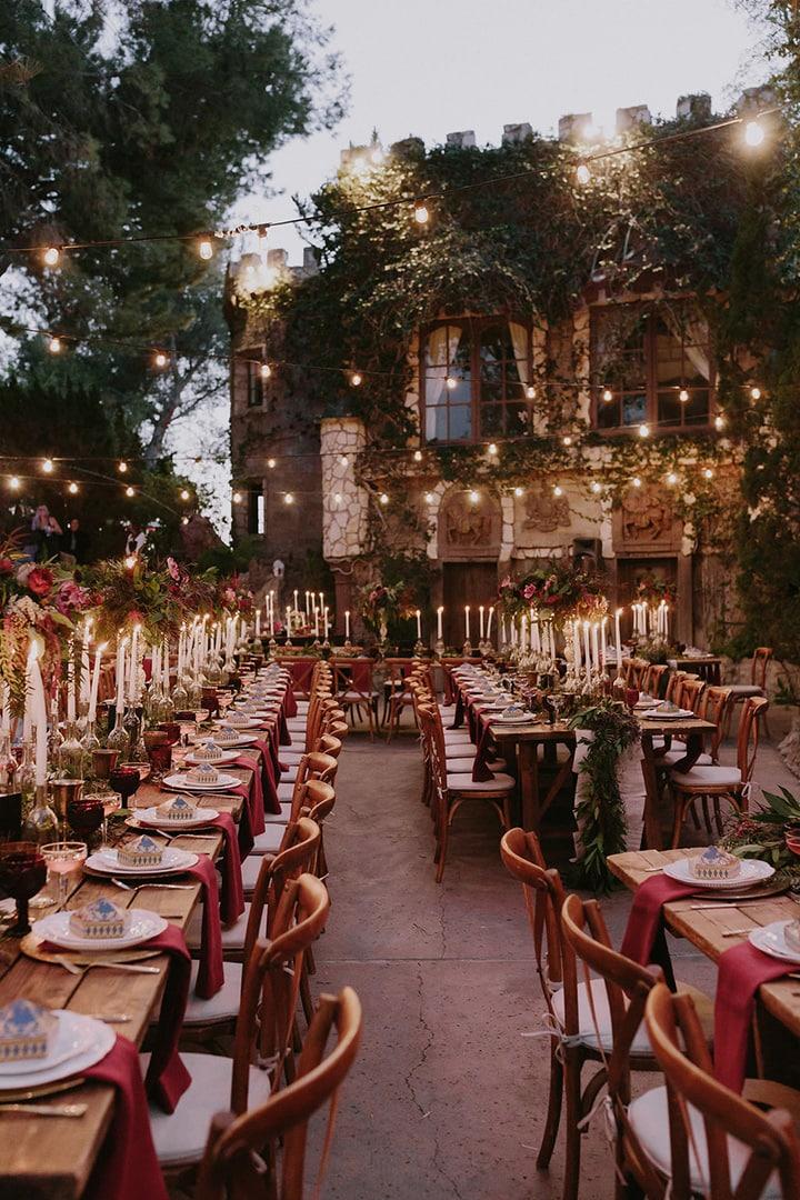 Порядок работ по оформлению и украшению свадебного зала своими руками - 5