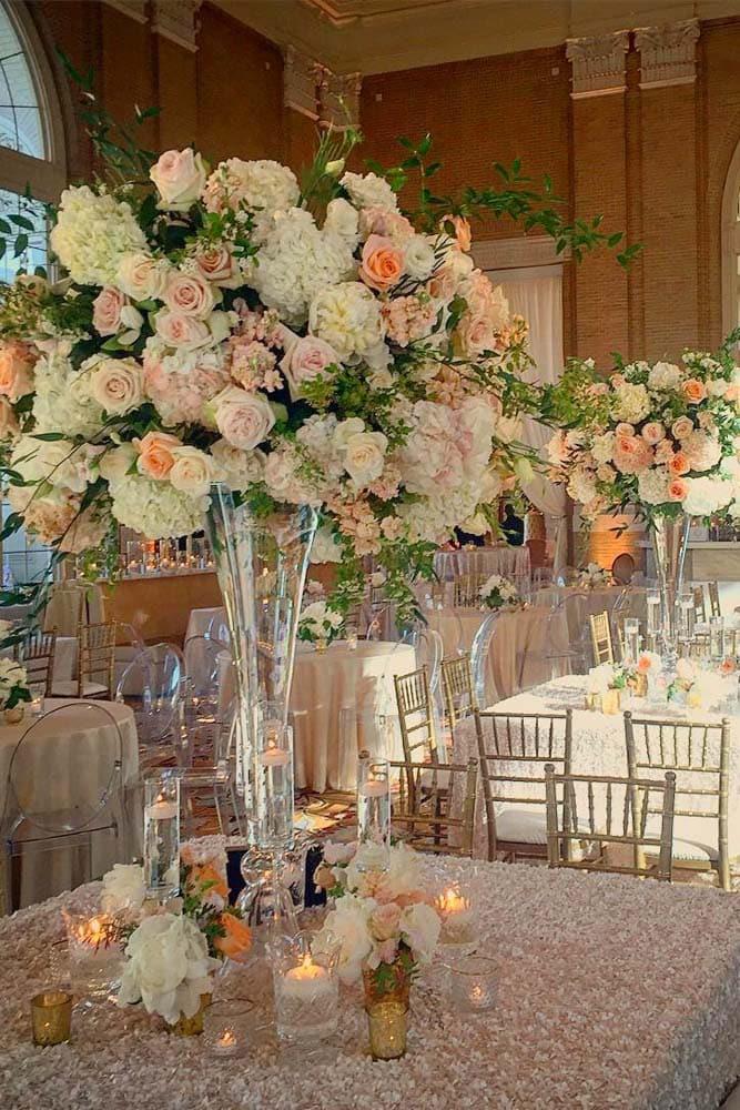 Список оригинальных идей для оформления и украшения зала на свадьбу своими руками - 3